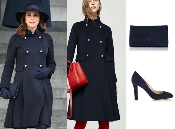 Bộ sưu tập đồ bầu hàng hiệu cực sang và xinh của công nương Kate Middleton