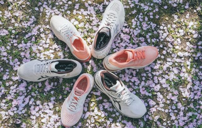 asics ra mắt BST giày thể thao 'Sakura' lấy cảm hứng từ hoa anh đào